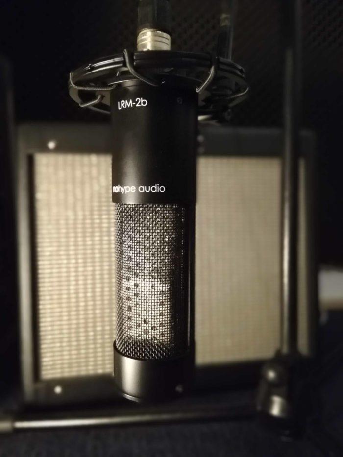 Micrófono de cinta NoHype audio lrm-2b