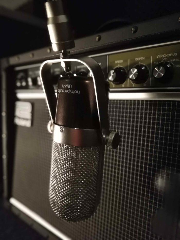 micrófono de cinta nohype audio lrmv